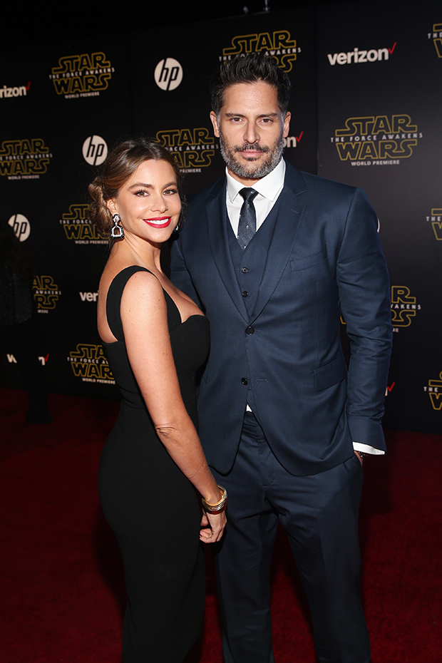 545bf7621c9 Sofia Vergara And Joe Manganiello Make Sexy Red Carpet Debut As A ...