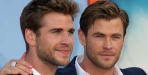 Jul 28, 2015; Los Angeles, California, United States; Vacation Premiere..Featuring: Liam Hemswroth, Chris Hemsworth, Luke Hemsworth.Where: Los Angeles, California, United States.When: 28 Jul 2015 (Credit Image: ¬