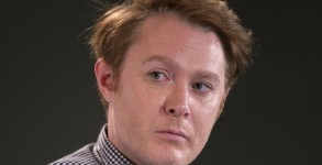 Oct. 10, 2015 - Los Angeles, California, U.S. - CLAY AIKEN participates in the inaugural Politicon, a non-partisan, Comic-Con style event for politics and entertainment. The agenda for the two-day event includes panels, debates, tv and movie screenings, live radio, podcasts, comedy shows, book readings, interviews, meet & greets, art exhibitions and music performances(Credit Any Usage:
