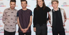 Dec 10, 2015; Birmingham, United Kingdom; BBC Music Awards 2015 held at the Genting Arena - Arrivals..Featuring: One Direction, Liam Payne, Louis Tomlinson, Harry Styles, Niall Horan.Where: Birmingham, United Kingdom.When: 10 Dec 2015 (Credit Image: ¬