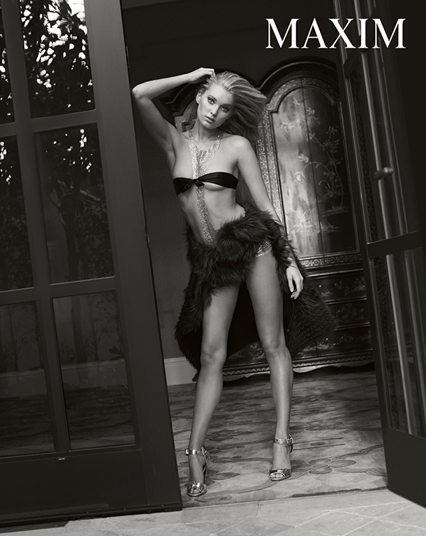 Victoria S Secret Model Elsa Hosk Goes Nude On The Cover
