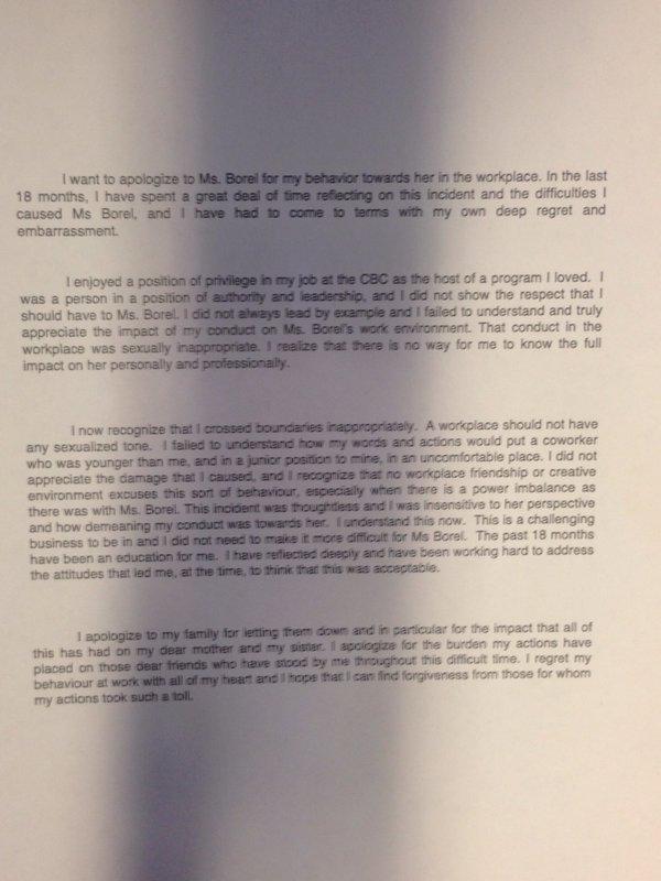 Jian Ghomeshi Signs Peace Bond, Won't Stand Trial On Sex Assault