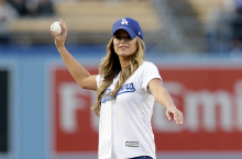 Memorable Celebrity First Pitches