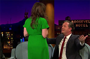 Mayim Bialik Flashes Piers Morgan In Next Chapter Of Cleavagegate