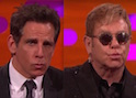 Ben Stiller Teaches Elton John To Master 'Blue Steel'