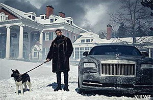 Drake Is The King Of Canada In 'Views' Promo Pic