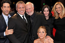 'Friends' Reunion And More Pics From James Burrows Tribute