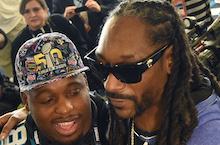Stars Celebrate Super Bowl Weekend